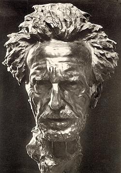 Ezra Pound Bust